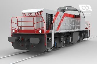 Diesel locomotive CFD Type BB with electric traction